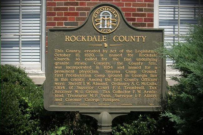 Rockdale County GA