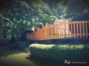 Columbus Wood Picket Fence