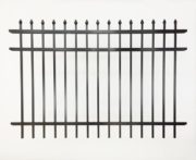 Atlanta 3 Rail Speartop Aluminum Fencing