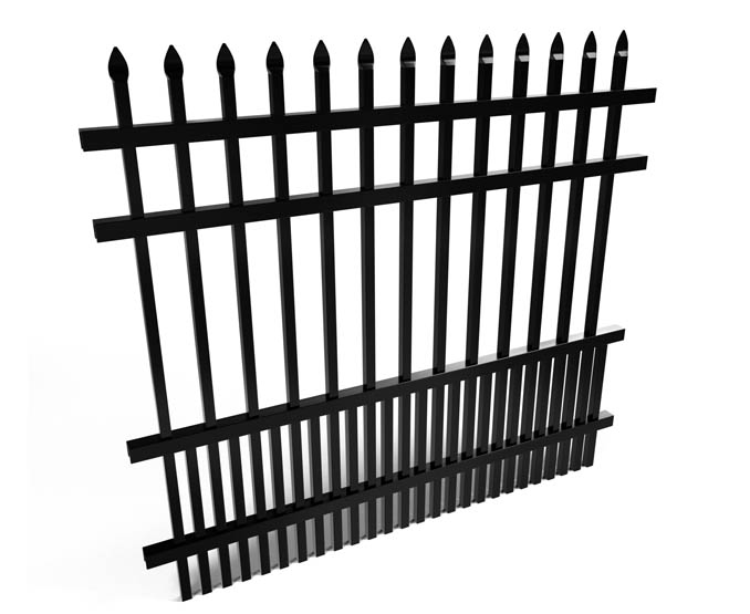 Avalon Aluminum Puppy Picket Fence Panel