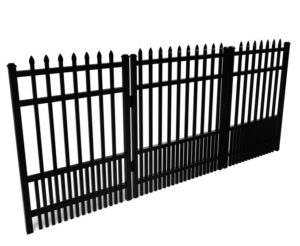 Avalon Speartop With Puppy Picket Walk Gate