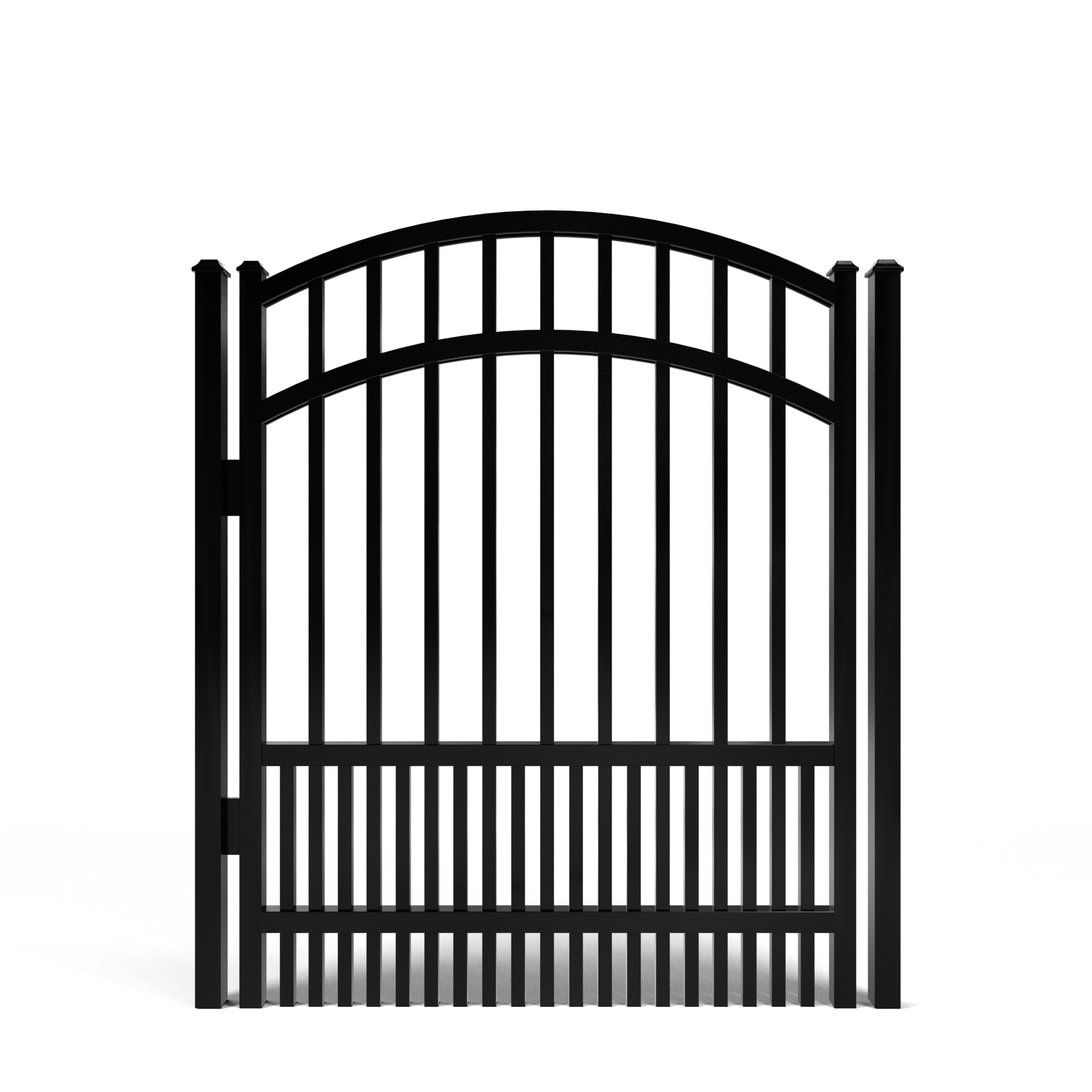 Berkley Smooth Top Puppy Picket Aluminum Walk Gate