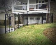 Brookhaven Aluminum Posts Installed