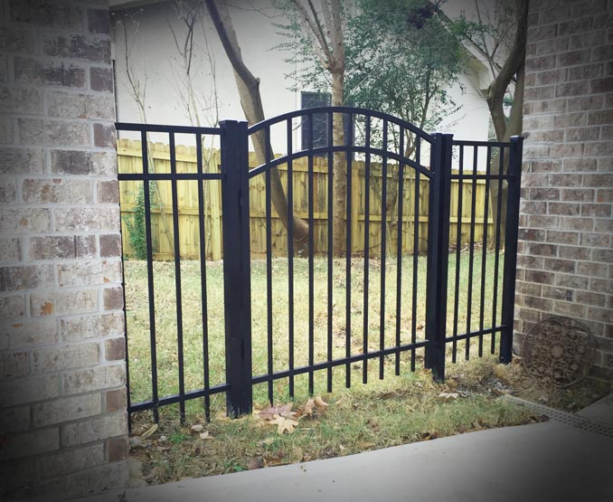Aluminum Walk Gates