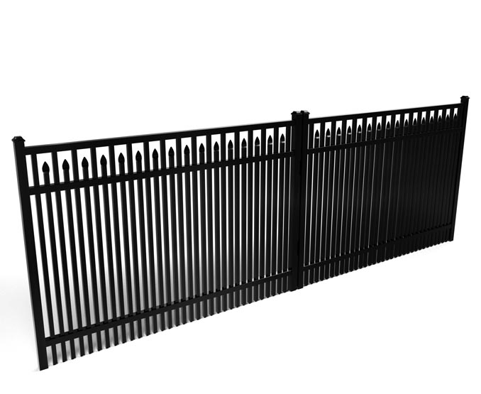 Chamblee Custom Double Picket Driveway Gate