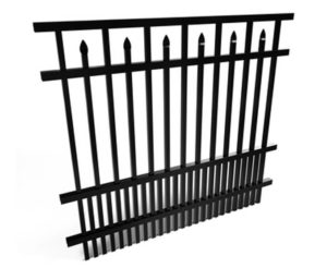 Cobb Black Fencing Panel