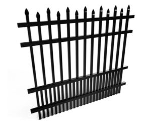 Dublin Metal Fence Panel
