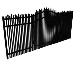 Dunwoody Traditional Metal Walk Gate For Dogs
