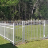 White Aluminum Fence Package