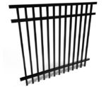 Brookhaven 3 Rail Smooth Top Aluminum Fencing