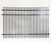 Athens Double Picket Speartop Metal Fencing