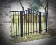 Brookhaven Installed Aluminum Walk Gate