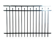 Candler Alternating Speartop Aluminum Fence Panel