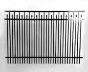 Chamblee Double Picket Alternating Speartop Fence Panel