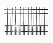 Dublin Alternating Speartop Aluminum Fencing With Puppy Guard