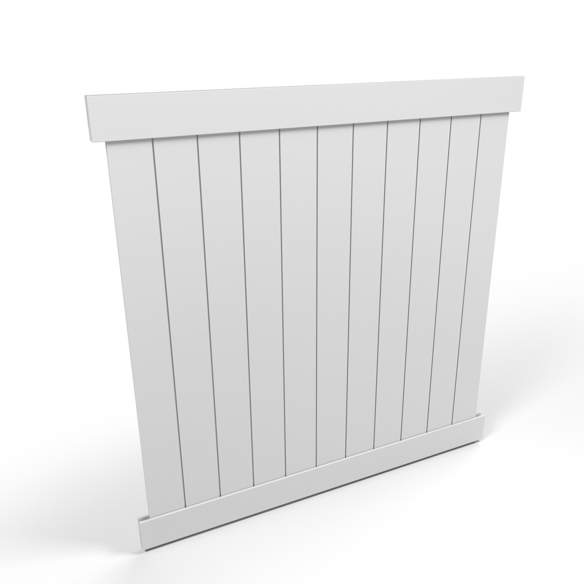 Vinyl Privacy Fence Panel