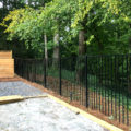2 Rail Aluminum Fence Panels