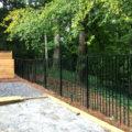 2 Rail Aluminum Fence Panels