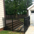 3 Rail Smooth Top Double Picket Fence