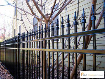 Aegis residential steel fencing