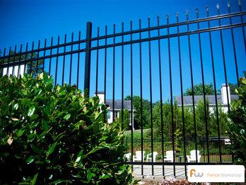 Aegis steel fencing