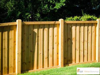 Wood Fences Durham Fence Workshop
