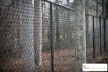 Professional chain link fence installers in Apex, NC