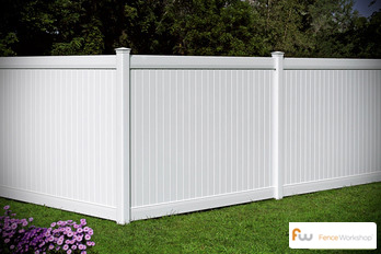 Professional vinyl fence supplies and installation in Apex, NC