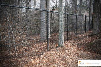 chain link fence in athens ga