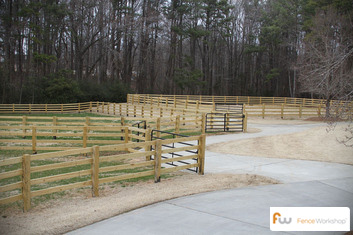 Professional farm fence installation in Savannah, GA