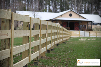 Farm fence supply and installation in Savannah, GA.