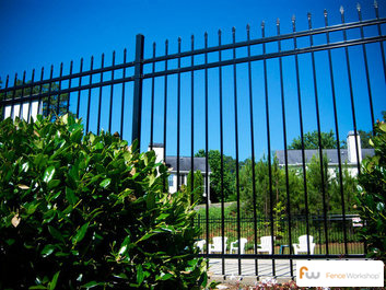 Steel fence installation and supplies in Jacksonville, FL