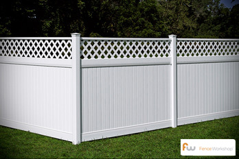 Beautiful vinyl fencing in Kissimmee, FL