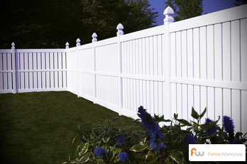Composite fence design, sales and supply