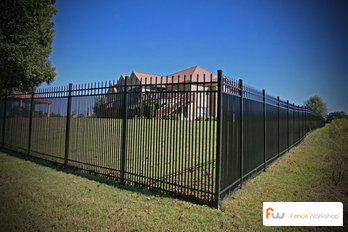 Professional dog fence installation