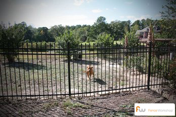 Metal dog fence supply
