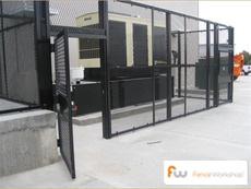 Matrix security fencing