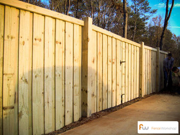 Wood fencing professionals in Apex, NC