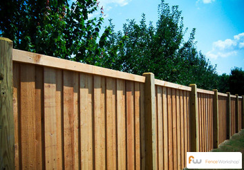 Horizontal Wood Fence Design together with WoodenFencing additionally Wood fencing likewise Fence Designs besides Build A Shadowbox Privacy Fence. on fence shadow box
