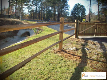 Split rail fencing sales installation and repair in Georgia, Florida and North Carolina.