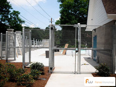 Wrought iron pool fencing sales