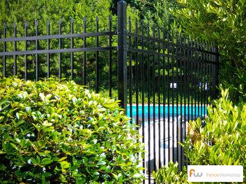 Beautiful pool fences