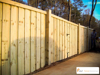 Pine Fences Fence Workshop