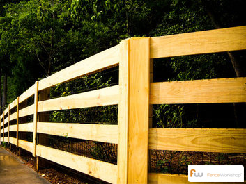 MCQ pressure rteated pine fences in GA, FL and NC