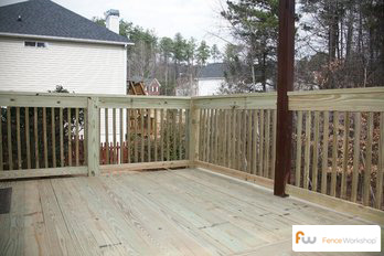 Southeastern deck installation