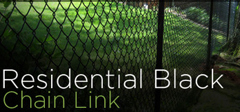 where does fence workshop sell commercial black vinyl coated chain link fencing