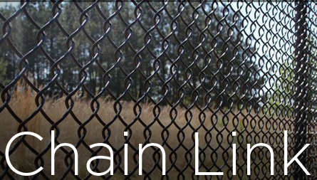 Chain link fencing button