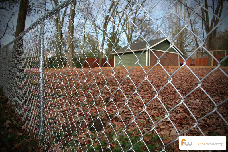 Chain link fencing supply, delivery and installation in GA, FL and NC.