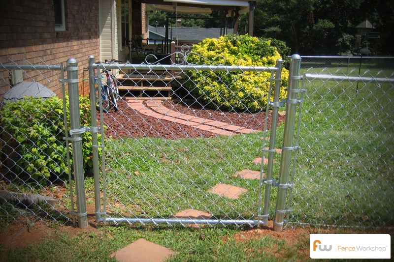 chain link fencing supply delivery and in ga fl and nc