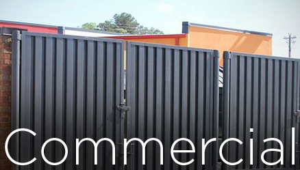 Commercial fencing supply